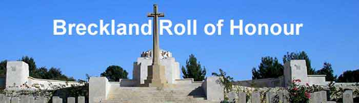 Breckland Roll of Honour (Jerusalem Memorial)